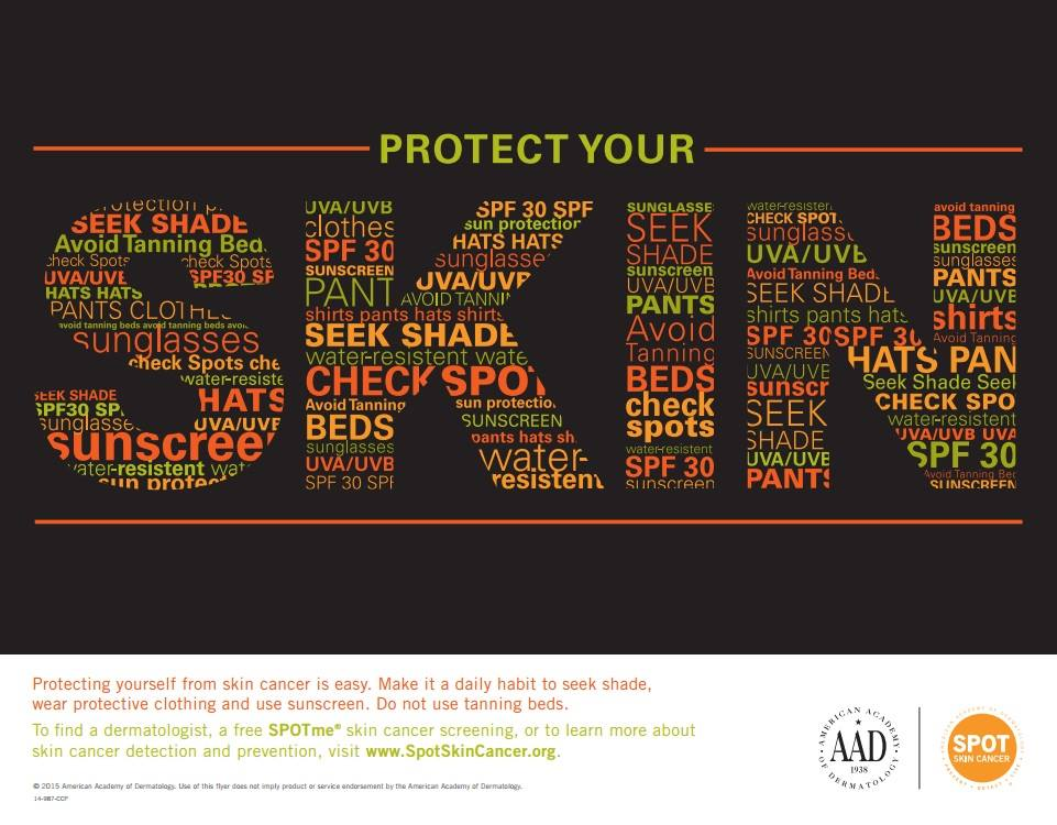 Are you protecting your skin?
