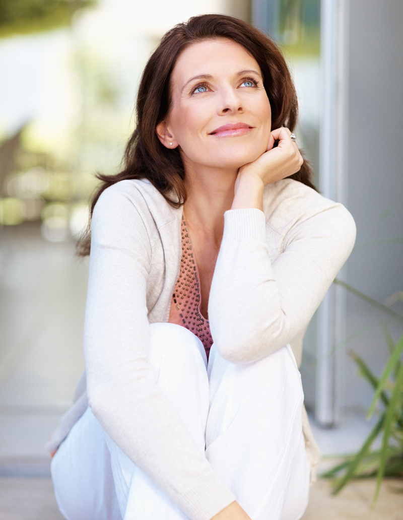stock-photo-11324244-smiling-mature-lady-looking-up
